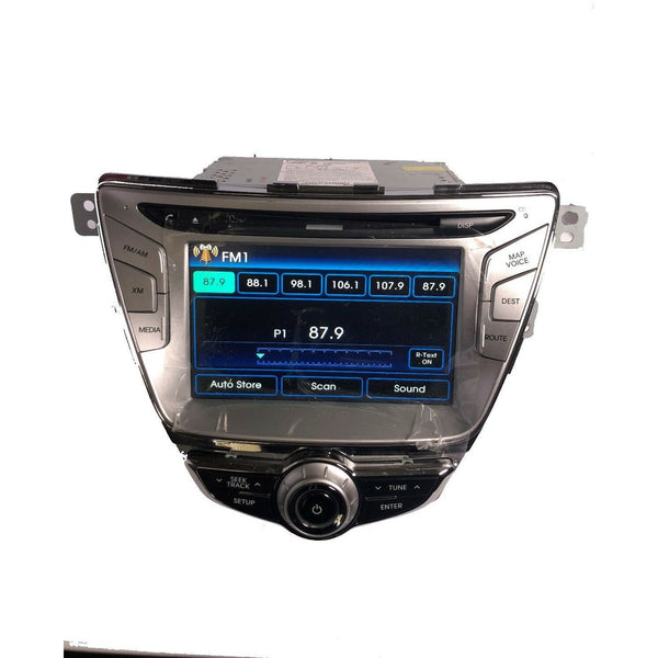 Hyundai Elantra Blue Link Touch Screen Navigation Radio [2011-2013] - Factory Radio Parts