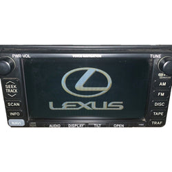 Lexus ES300 Navigation Radio [2002-2003] - Factory Radio Parts