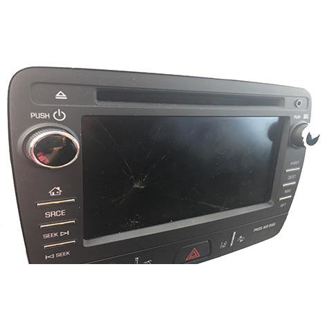 Buick Chevrolet GMC Delphi Mylink Radio 6.5 inch Touchscreen TJ065MP01BT - Factory Radio Parts