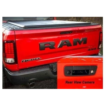 RAM Truck 1500 2500 3500 Tailgate Handle Rear Camera Kit - Factory Radio Parts