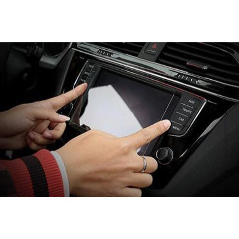 "Factory Radio Parts Clear Soft Universal 6"" 7"" 8"" and 12""inch Car Radio Screen Protector - Factory Radio Parts"