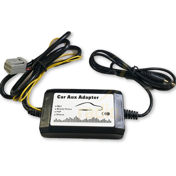 Chrysler Dodge Jeep RAZ RAQ REQ Factory Non-Navigation Radio Aux Adapter - Factory Radio Parts