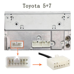 Toyota Lexus 13 Pin AUX and USB Adapter Harness (1998-2004) - Factory Radio Parts