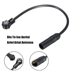 Mercedes Benz Din To ISO Radio AM/FM Aerial Antenna Extension Adapter - Factory Radio Parts