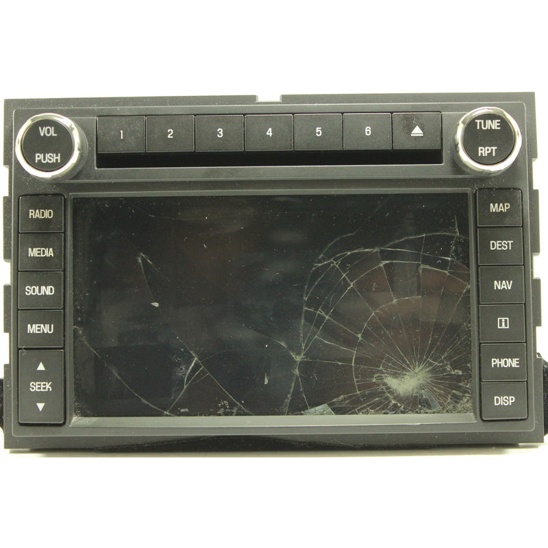 "Ford Lincoln Xavani Clarion Navigation Radio 6.5"" Touchscreen - Factory Radio Parts"