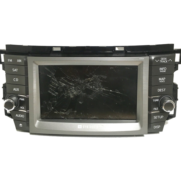 "Toyota Denso and Fujitsu Ten Navigation Radio 7"" Replacement LCD and Touchscreen (2007-2014) - Factory Radio Parts"