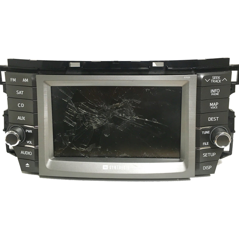 "Toyota Denso and Fujitsu Ten Navigation Radio 7"" Replacement Touchscreen (2007-2014) - Factory Radio Parts"