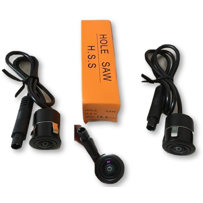 Automotive 360 Degree Universal Camera Kit and 4-CH DVR Recorder Kit - Factory Radio Parts