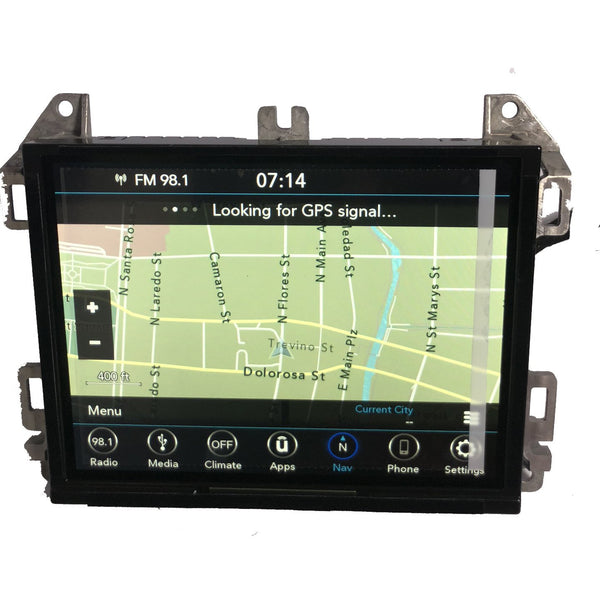 Jeep Wrangler JL UConnect 4C Nav with 8.4 inch Screen UAQ Radio - Factory Radio Parts