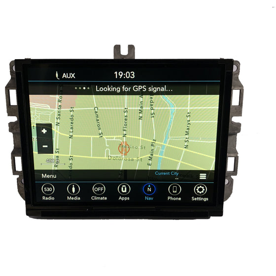 2013-2019 Ram Truck UConnect 4C Nav with 8.4 inch Screen UAQ Radio - Factory Radio Parts
