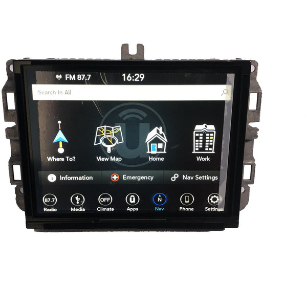 Jeep Grand Cherokee Uconnect 4C Nav with 8.4 inch Screen UAQ Radio - Factory Radio Parts