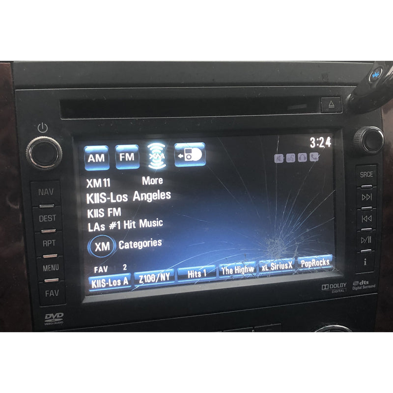 Chevrolet GMC Denso Navigation Radio 6.5 inch LCD with Touchscreen - Factory Radio Parts