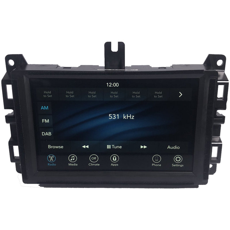 Jeep Grand Cherokee WK Uconnect 4 with 7 inch Screen Radio AUS + NZ - Factory Radio Parts