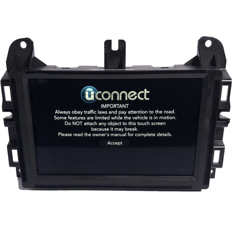 Chrysler Dodge Jeep Ram Uconnect 4 with 7 inch screen UAG Radio Replacement LCD and Touchscreen TRULY - Factory Radio Parts