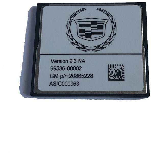 Cadillac Escalade Delphi SuperNav 9.3 NA Map SD Card 20865228 (2011-2014) - Factory Radio Parts