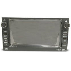 "Chevrolet GMC Hummer Denso Navigation Radio 6.5"" Replacement LCD and Touchscreen Assembly (2007-2012) - Factory Radio Parts"