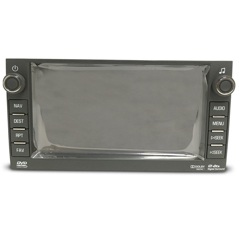 "Chevrolet GMC Hummer Denso Navigation Radio 6.5"" Touchscreen Assembly - Factory Radio Parts"