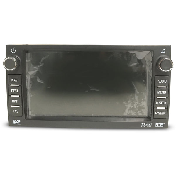 Buick Chevrolet GMC Delphi Radio Touchscreen Door Assembly (2008-2012) - Factory Radio Parts