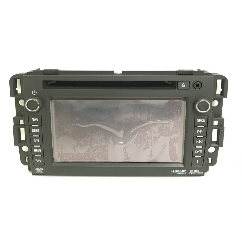 Chevrolet GMC Denso HDD Radio 6.5 inch Touchscreen Assembly - Factory Radio Parts