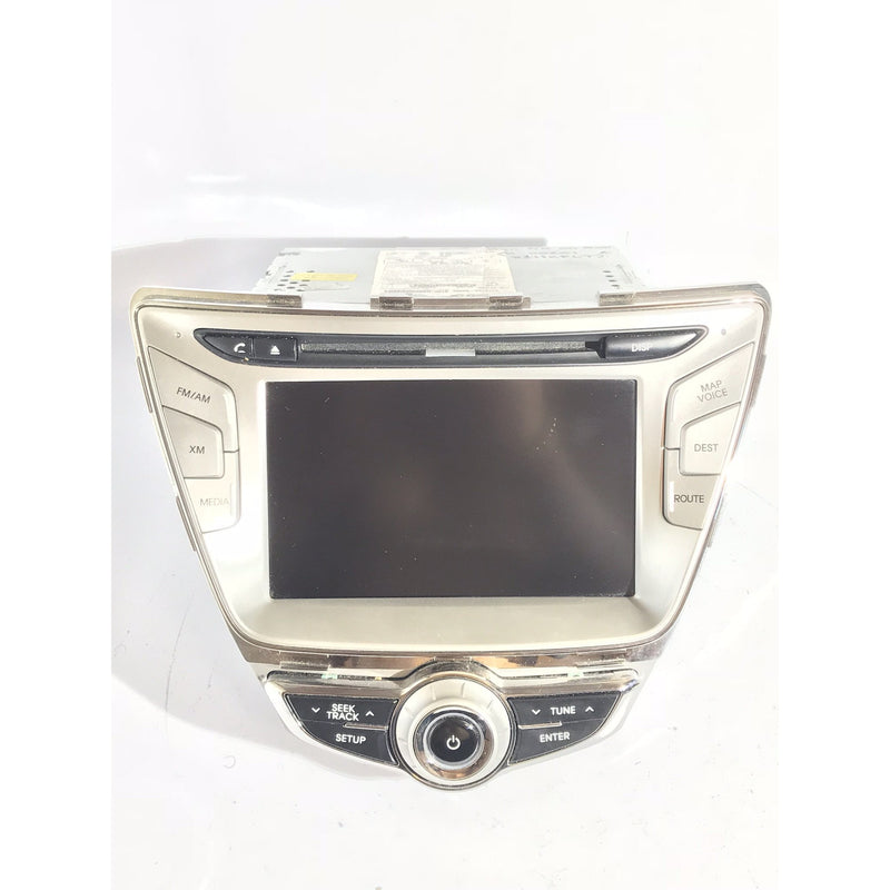 Hyundai Elantra Blue Link Touch Screen Navigation Radio [2010-2013] - Factory Radio Parts