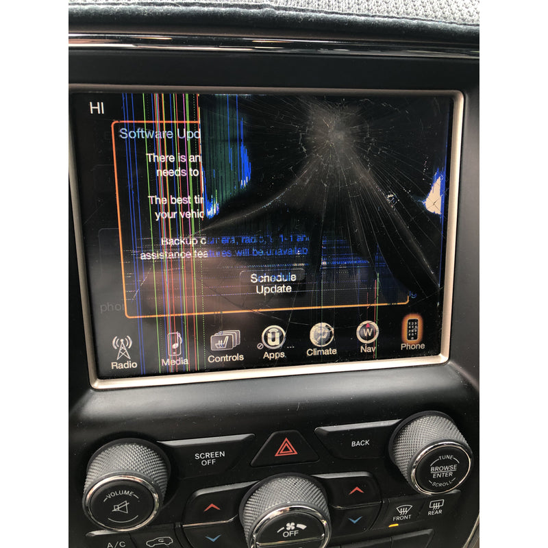 Chrysler Dodge Jeep Ram Uconnect 3C with 8.4 inch Screen VP3 and VP4 Radio Replacement LCD and Touchscreen - Factory Radio Parts