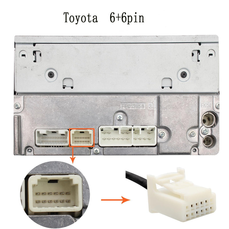 Toyota Lexus AUX and USB Input Adapter - Factory Radio Parts