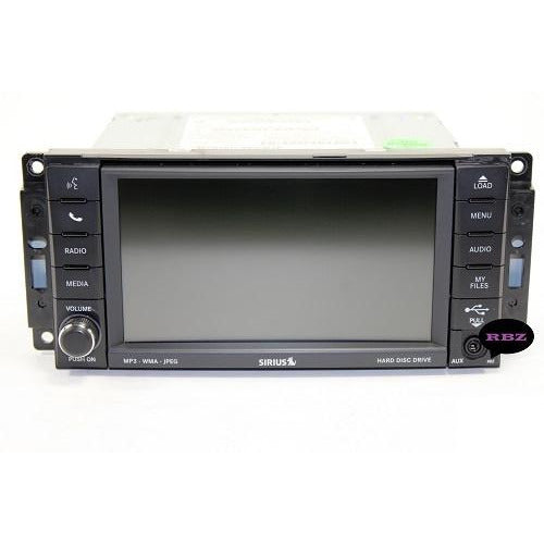 Chrysler Dodge Jeep Ram 430 RBZ and 430N RHB Uconnect Mygig Radio Replacement LCD with Touchscreen - Factory Radio Parts