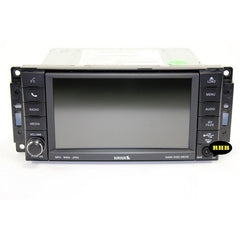Chrysler Dodge Jeep Ram 430 RBZ and 430N RHB Uconnect Mygig Radio Touchscreen Door Assembly - Factory Radio Parts