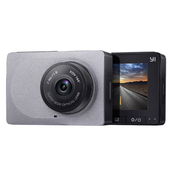 YI Smart WIFI Active Recording 165 Degree 1080P Car and Truck Dash Camera Kit - Factory Radio Parts