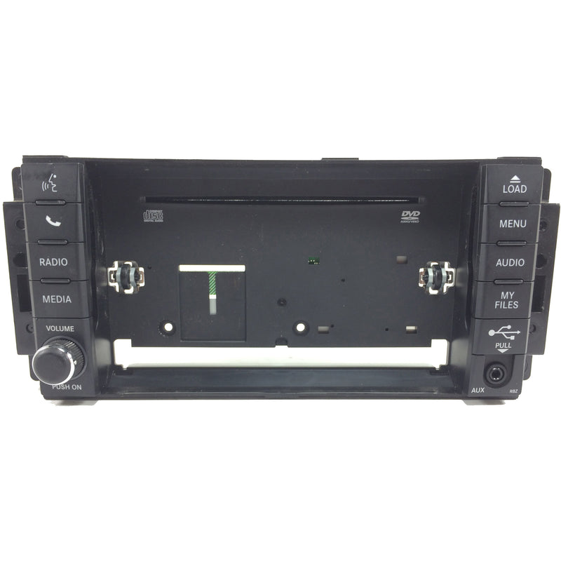 Chrysler Dodge Jeep Ram 430 RBZ and 430N RHB Uconnect Mygig Radio Replacement Face Plate - Factory Radio Parts