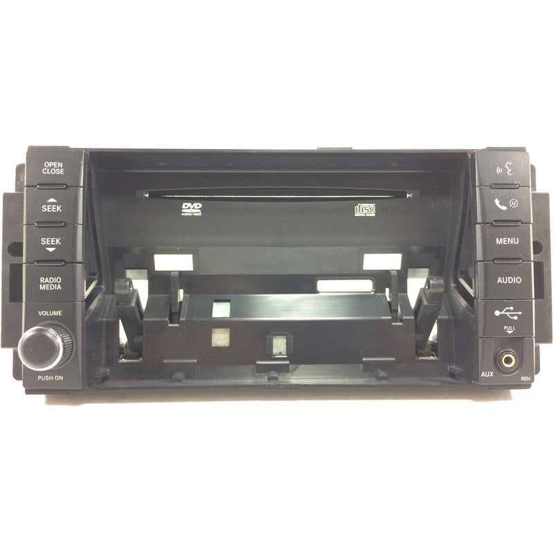 730N RER and 430 REN Uconnect Mygig Radio Replacement Face Plate - Factory Radio Parts