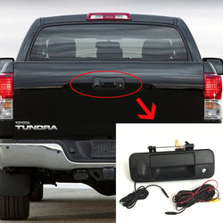 Toyota Tundra Tailgate Handle Rear View Camera Kit (2007-2014) - Factory Radio Parts
