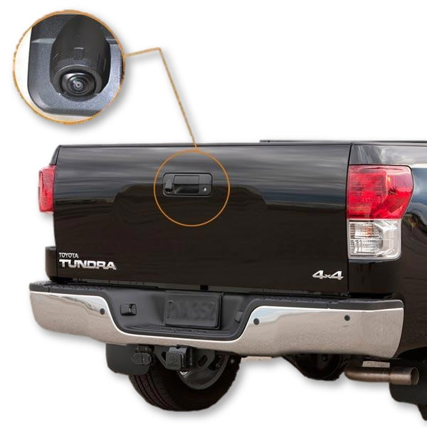 Ford F150 Tailgate Handle Rear View Backup Camera Kit (2015-2019) - Factory Radio Parts