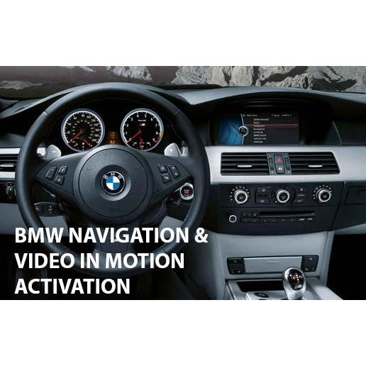 BMW iDrive (CIC) Navigation and Video In Motion Adapter - Factory Radio Parts