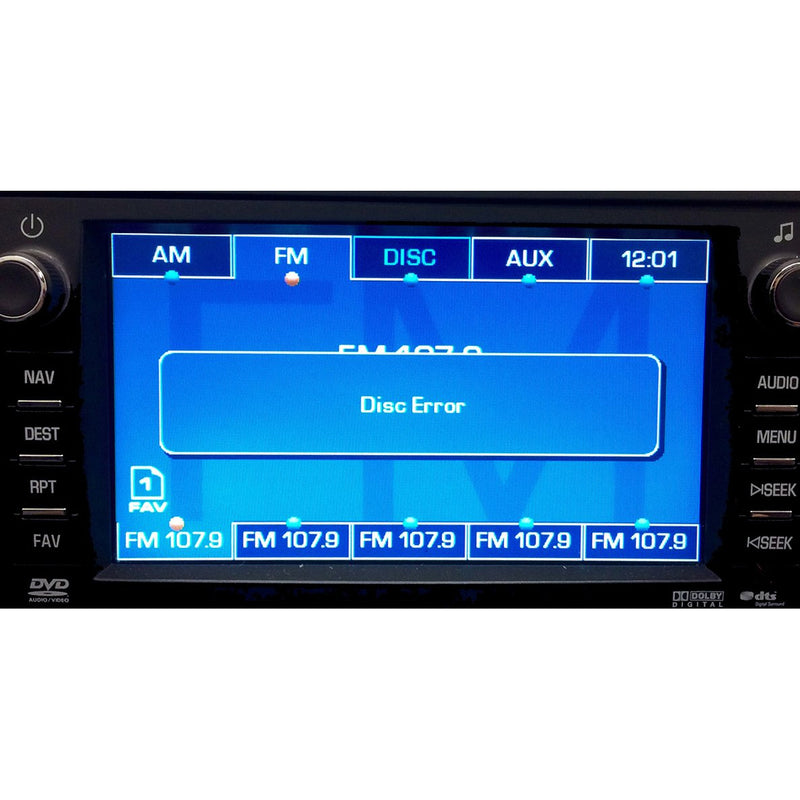 Chevrolet GMC Hummer Denso Radio Replacement CD DVD Drive (2007-2008) - Factory Radio Parts