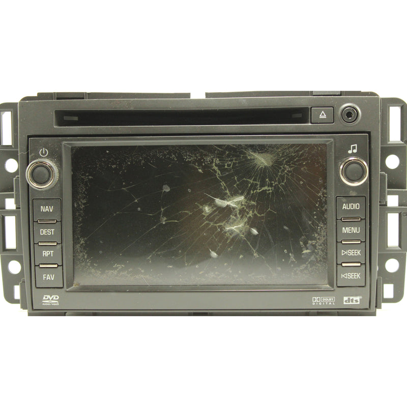 "Chevrolet Buick GMC Hummer Denso Navigation Radio 6.5"" Touchscreen - Factory Radio Parts"