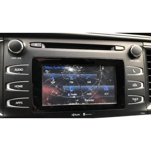 "Toyota Highlander Entune 2.0 Radio 6.1"" LCD and Touchscreen - Factory Radio Parts"