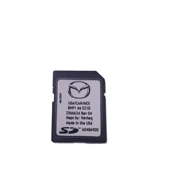 Mazda 3 MX-5 CX-3 SD Card Navigation 6BHP1-66-EZ1D and F (2017-2018) - Factory Radio Parts