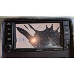 Chrysler Dodge Jeep Ram 430 REN and 730N RER RHR Uconnect Mygig Radio Touchscreen Door Assembly - Factory Radio Parts