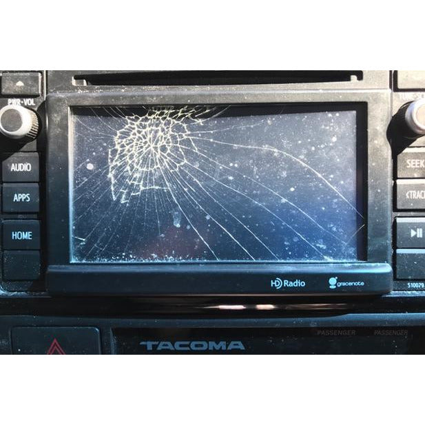 "Toyota Tacoma Entune 2.0 Radio 6.1"" Replacement Touchscreen - Factory Radio Parts"