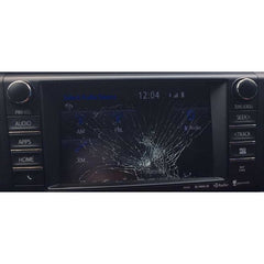 Toyota Rav4 Fujitsu Ten Entune 2.0 7 inch Replacement Touchscreen - Factory Radio Parts