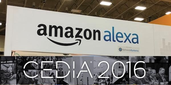 Energy Squad and Amazon Alexa at Cedia 2016