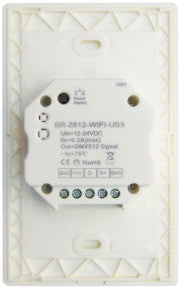 DMX WiFi Wall Mount Zone LED Controller