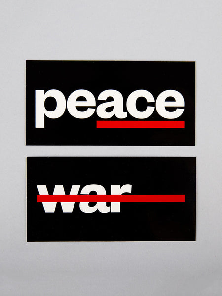 War & Peace Stickers