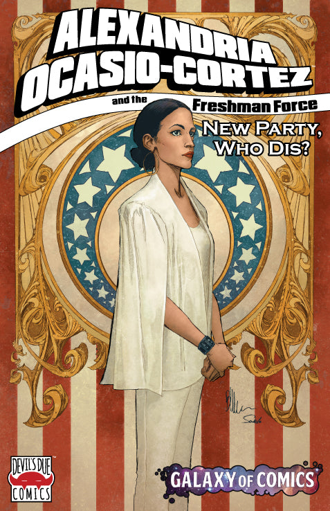 Alexandria Ocasio-Cortez and the Freshman Force Galaxy of Comics Retailer Variant