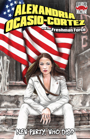Alexandria Ocasio-Cortez and the Freshman Force Midtown Comics Retailer Variant
