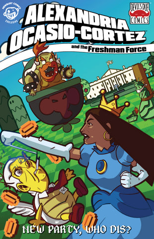 Alexandria Ocasio-Cortez and the Freshman Force Newbury Comics Retailer Variant