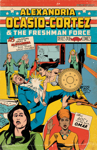 Alexandria Ocasio-Cortez and the Freshman Force Sanctum Sanctorum Retailer Variant