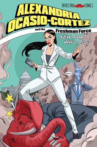 Alexandria Ocasio-Cortez and the Freshman Force: New Party Who Dis? 5-Pack - Signed