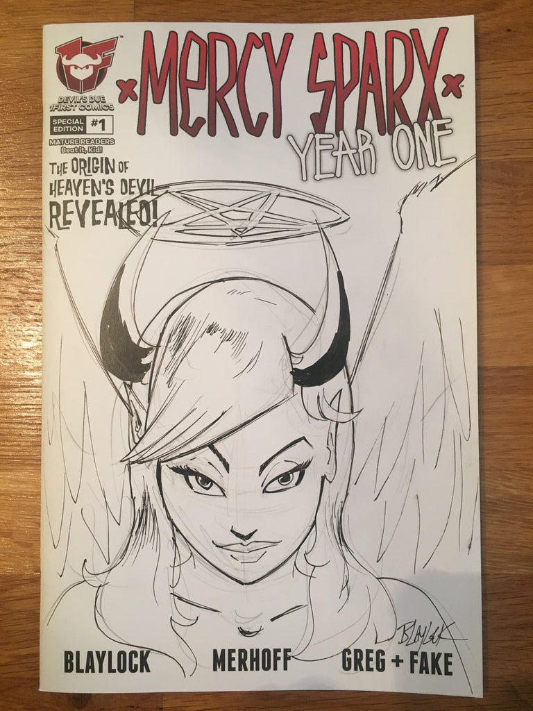 Mercy Sparx Year One 1 By Josh Blaylock Devil S Due Comics Feel the burn (cincinnati comic expo exclusive). devil s due comics